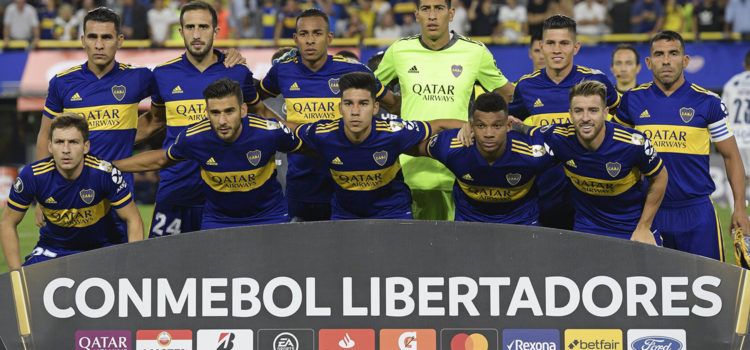 Los 11 iniciales Boca vs DIM Libertadores 2020 12 mayo, 2021
