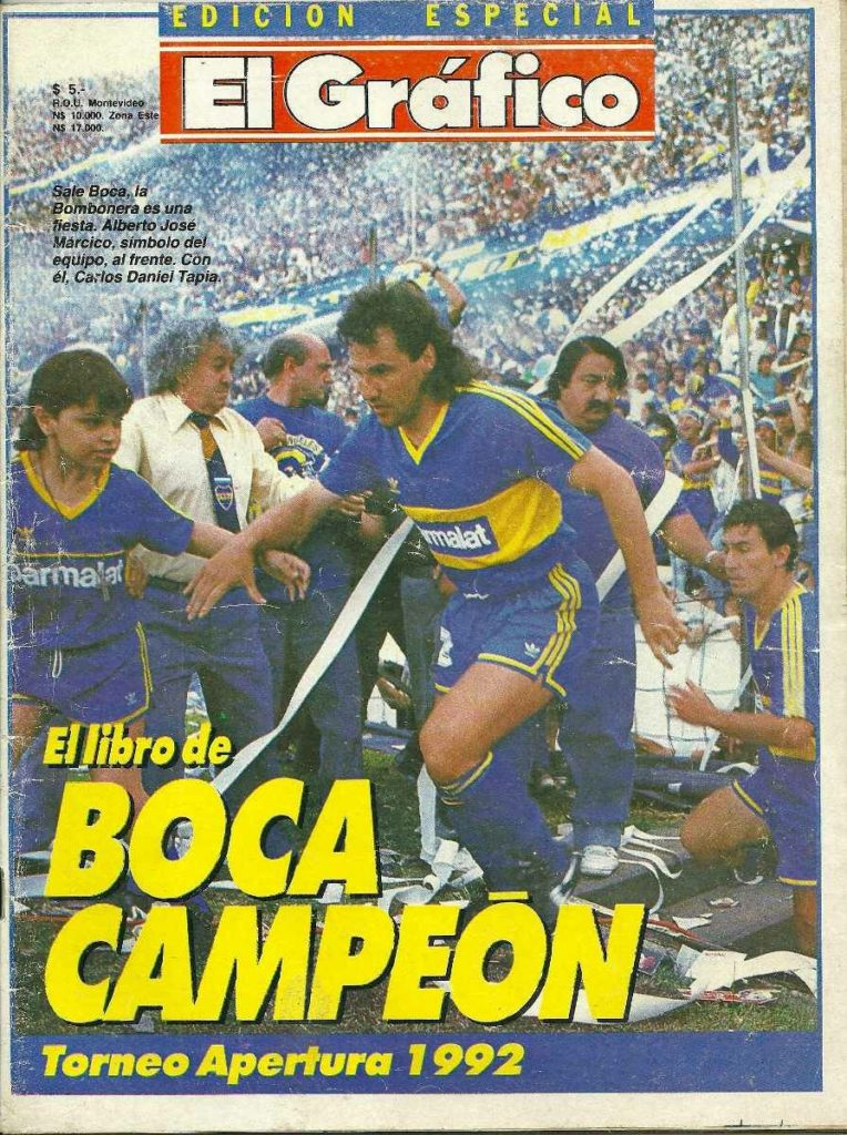boca campeon 19922089298600. 1 marzo, 2021