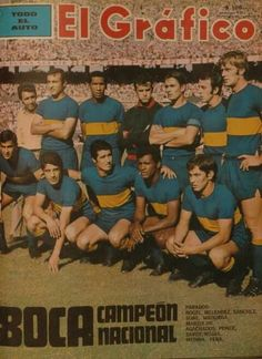 boca campeon 1970 10 junio, 2021