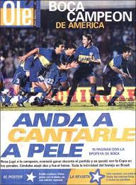 boca campeon de america 2000 10 junio, 2021