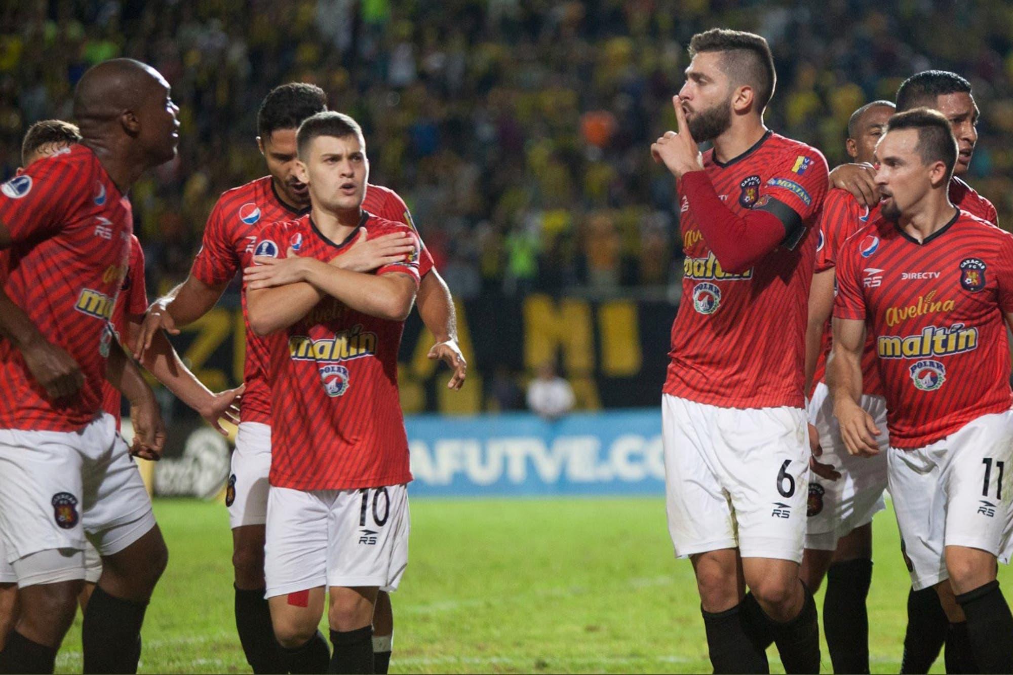 Desmenuzando al rival: Caracas, «Los rojos del Avila»