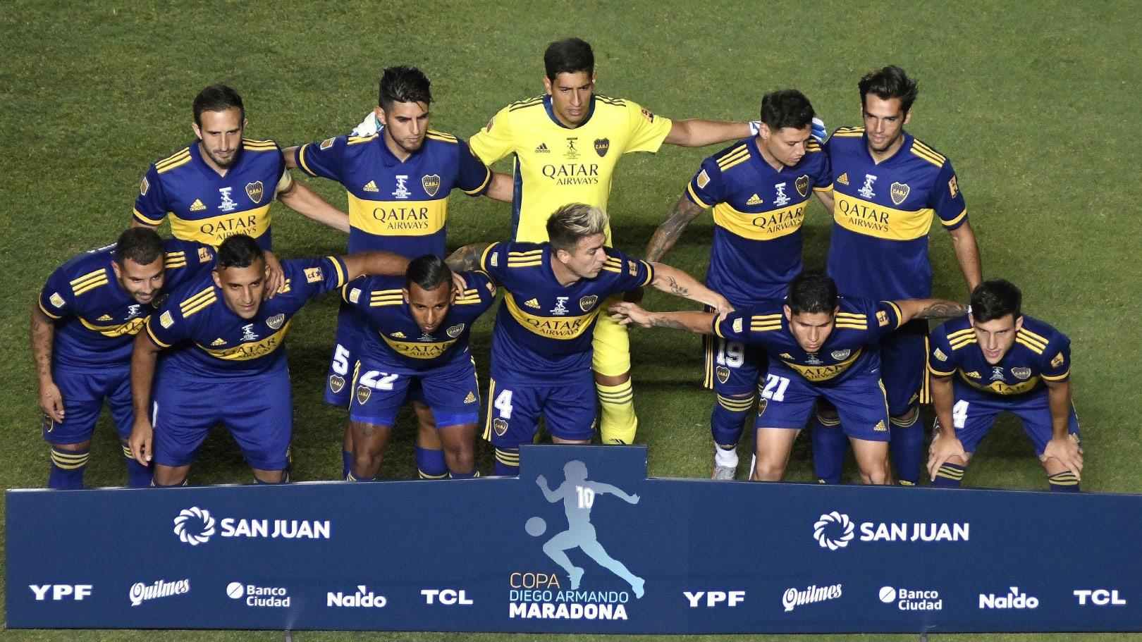 El 1×1 del Boca campeón