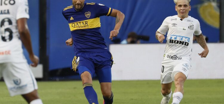 Boca 0 0 Santos 7 mayo, 2021