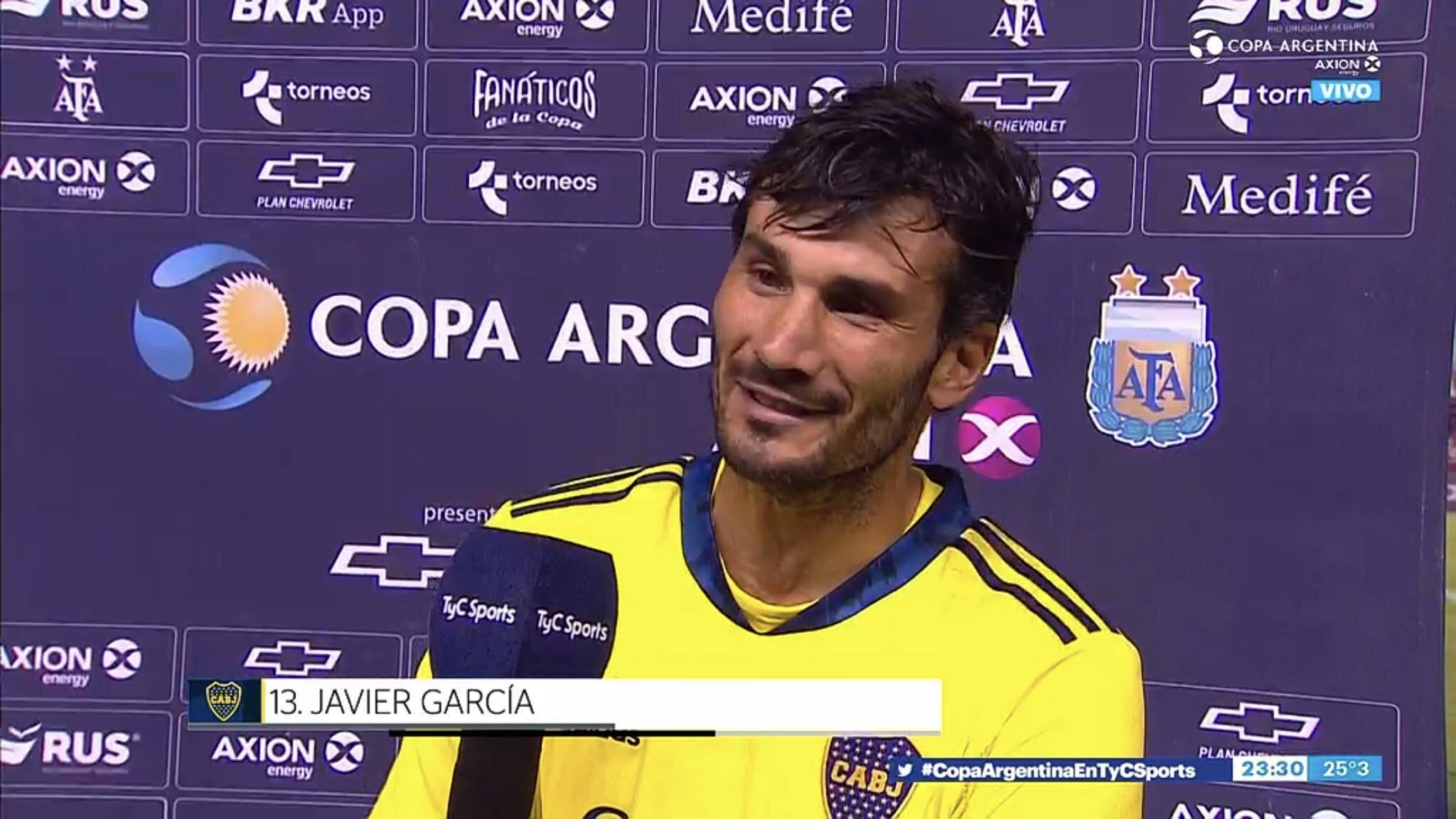Javier García: «Nos sorprendieron, no entendimos el juego»