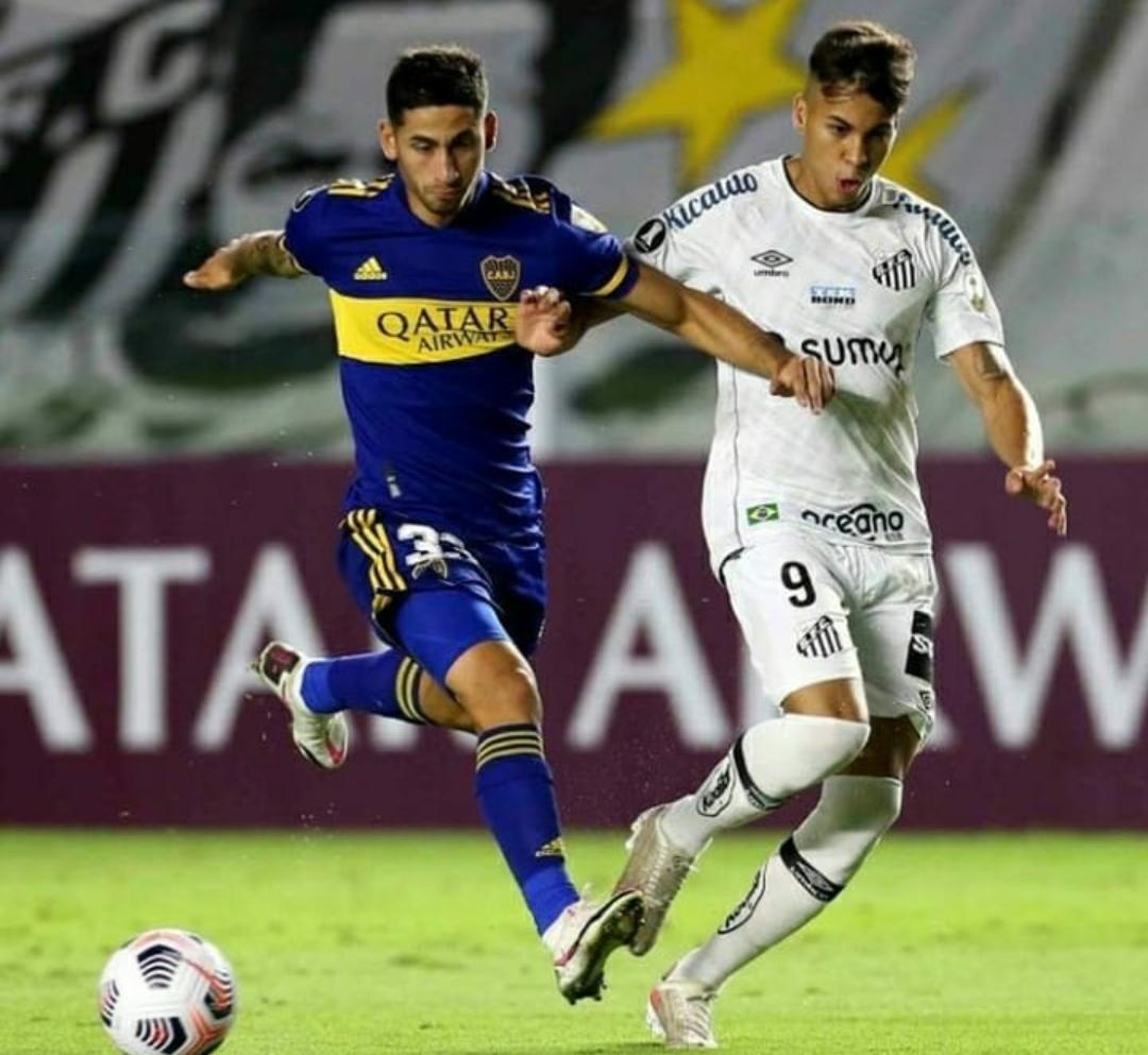 Boca cayó ante Santos y se complicó la clasificación