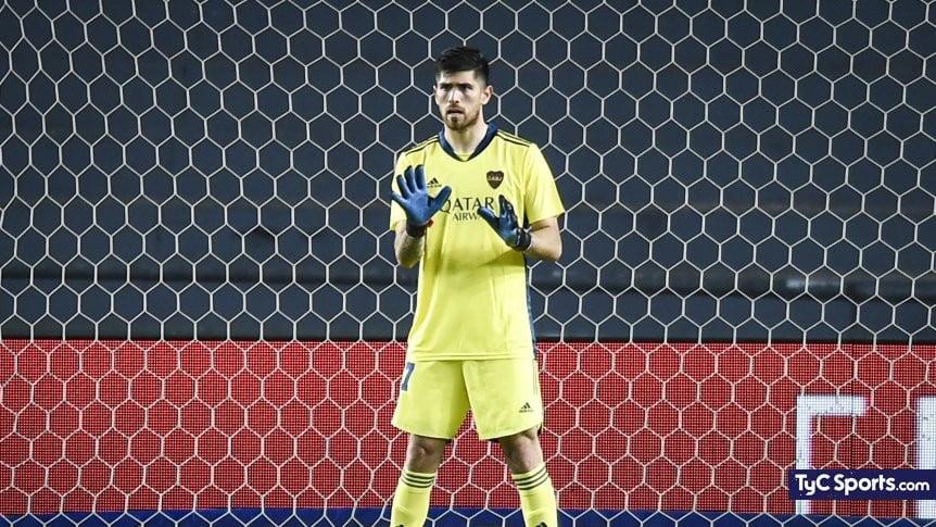 """Agustín Rossi: """"Sabíamos que iba a ser un partido complicado"""""""